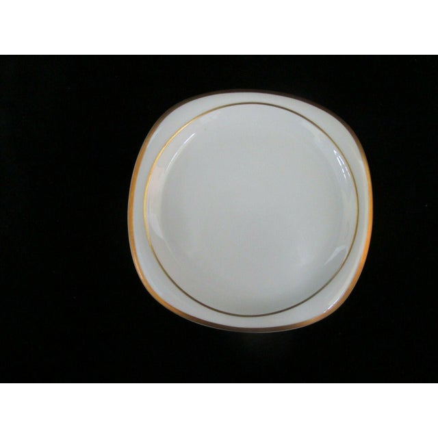 Vintage Rosenthal Studio Banquet Suomi Series Gold Gilt Cup Plate Setting - 5 Piece Set For Sale In Portland, OR - Image 6 of 9