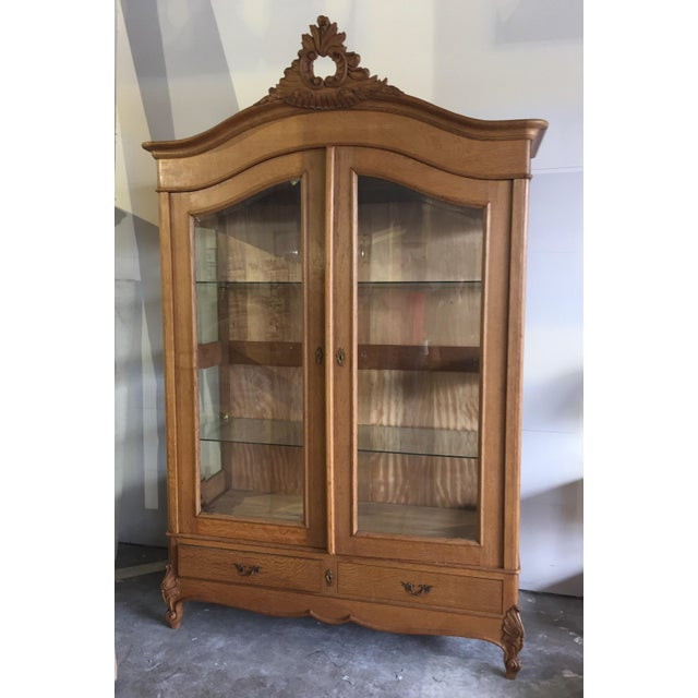 Vintage French Louis XV Style Cabinet - Image 8 of 8