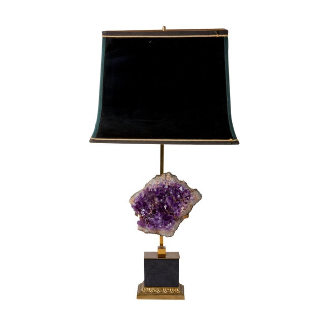 Hand Cast Brass Base Table Lamps with Black Shades Sculptural Lamps That Are Incredibly Detailed On Every Level Lead Time...
