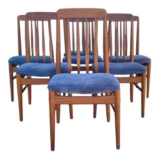 Mid 20th Century Benny Linden Dining Chairs - Set of 7 For Sale