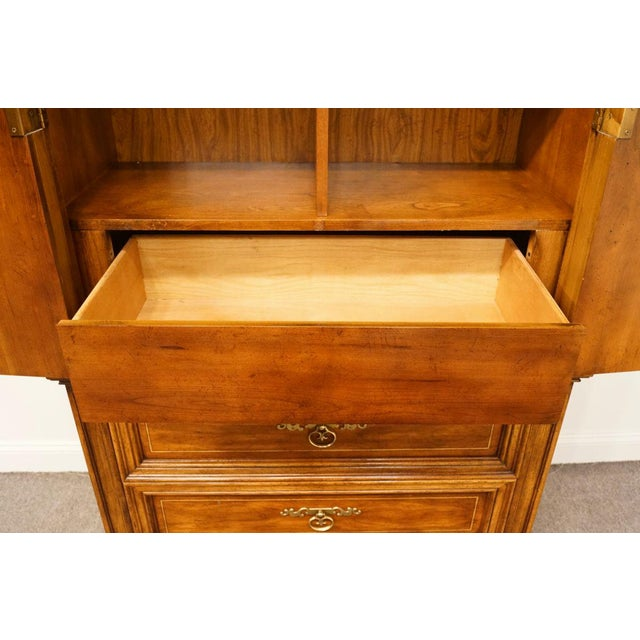 """20th Century Italian American of Martinsville 40"""" Door Chest/Armoire For Sale In Kansas City - Image 6 of 13"""