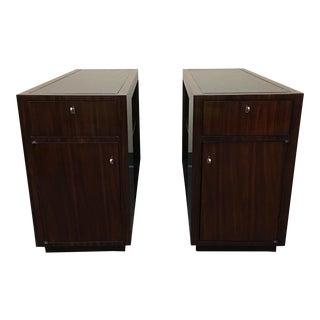 Ralph Lauren Modern Metropolis Side Tables - a Pair