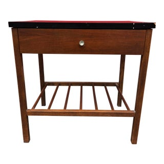 1960s Mid Century Modern Stanley Nightstand For Sale