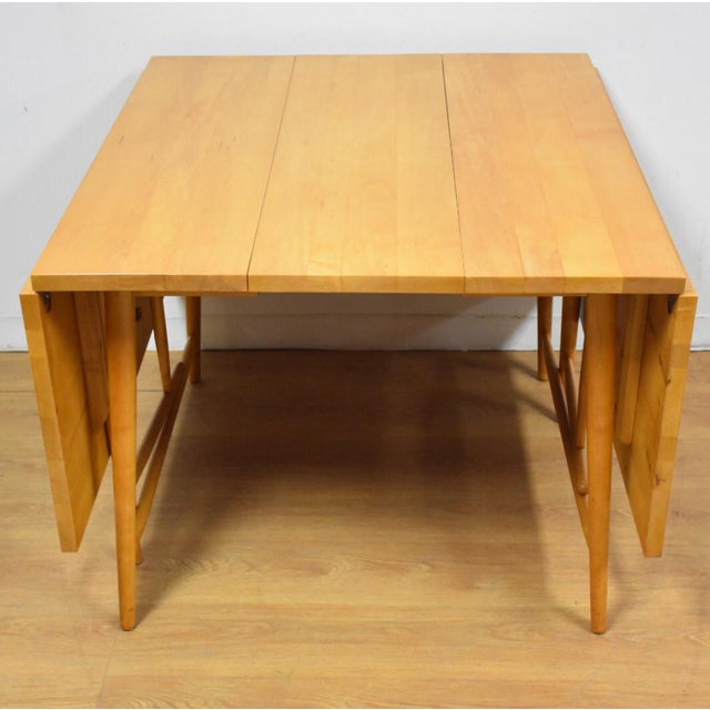 "Paul McCobb ""Predictor"" Dining Table - Image 3 of 11"