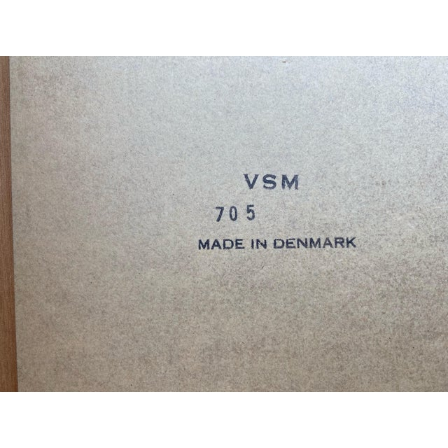 1970s Mid Century Danish Modern Teak Side Tables by Vejle Stole - a Pair For Sale - Image 5 of 6