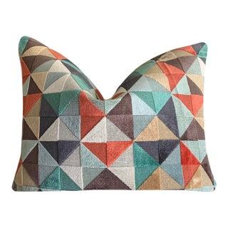 Velvet Osborne & Little Velatura Pillow Cover For Sale
