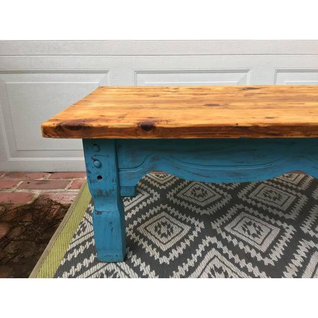 Hand-built coffee table made from reclaimed heart-pine; salvaged from a 1920's barn in middle Georgia. Originally used as...