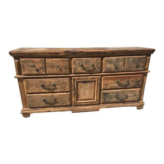 Rustic Dresser - Wood Stain Finish