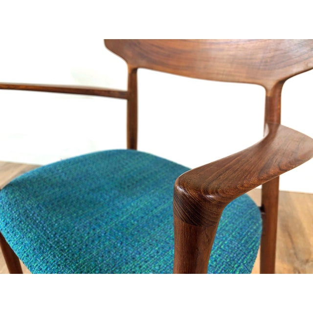 1960s Harry Østergaard for Randers Møbelfabrik Dining Chairs - Set of 8 For Sale - Image 11 of 13