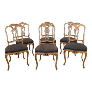Continental Craftsmen French Country Dining Chairs - Set of 6