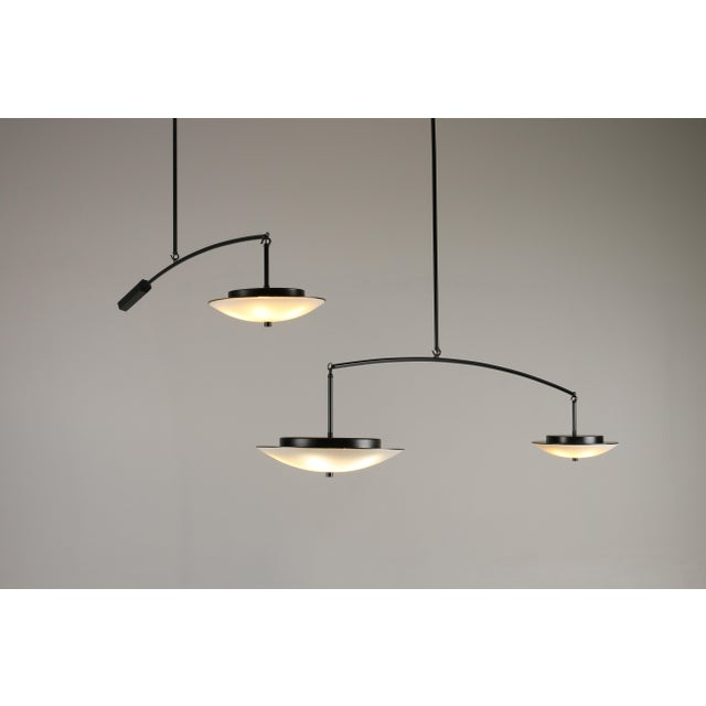 Contemporary Christopher Objects Draftsman No.3 Cantilever Pendant Light by Topher Gent For Sale - Image 12 of 13