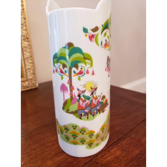 Bjorn Wiinblad 1960s Bjorn Wiinblad for Rosenthal Vase For Sale - Image 4 of 6