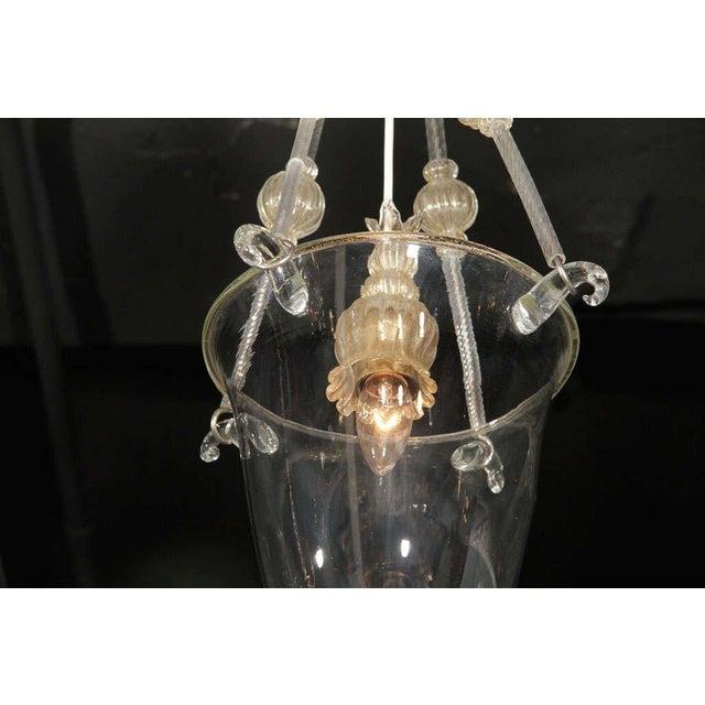 Glass Murano Glass Lantern For Sale - Image 7 of 10