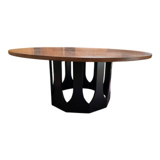 Vintage Harvey Probber Walnut Top Coffee Table For Sale
