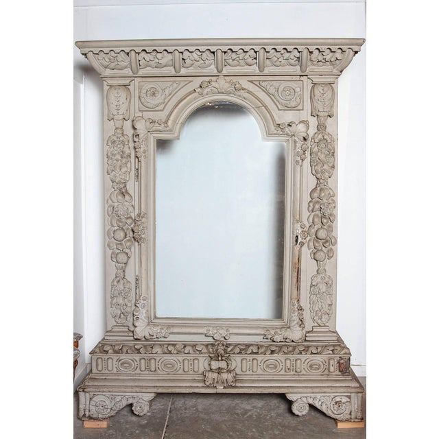 Gray Circa 1830 Chateau Vitrine From the Southwest of France For Sale - Image 8 of 12