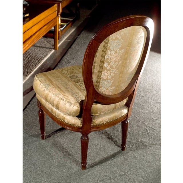 Jansen Louis XVI Boudoir Chairs - Pair For Sale - Image 5 of 7