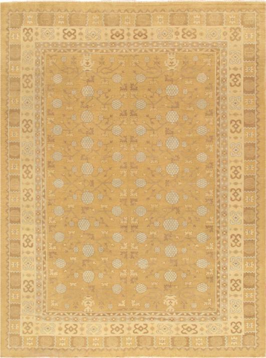 Pasargad S Khotan Wool Area Rug 9 1 X 12 3 Chairish