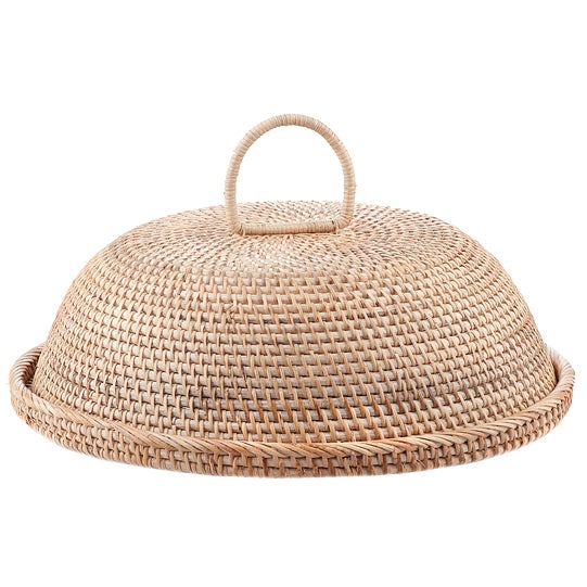 Rattan Tray with Cover - Image 2 of 3