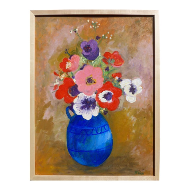 Large - French Bouquet of Flowers, Oil Painting For Sale