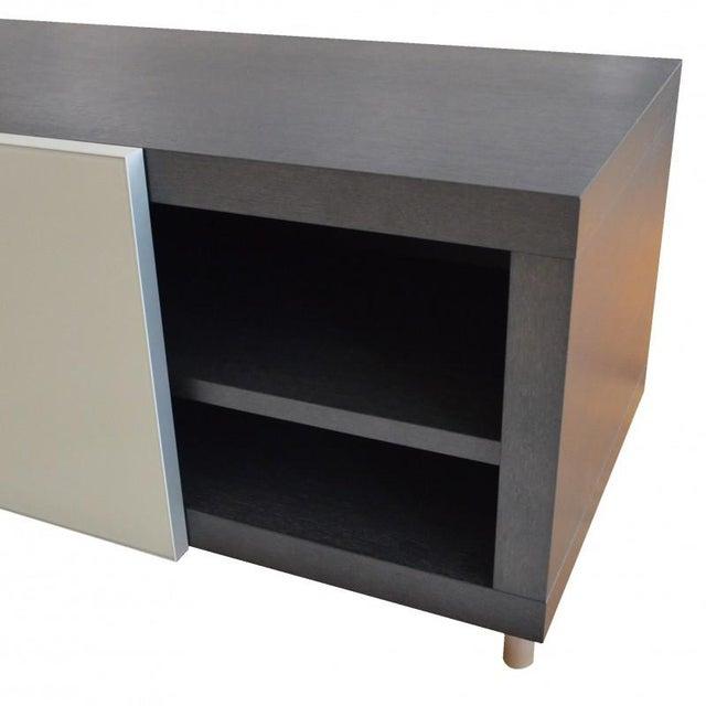 Ligne Roset Grey Media Cabinet - Image 2 of 3