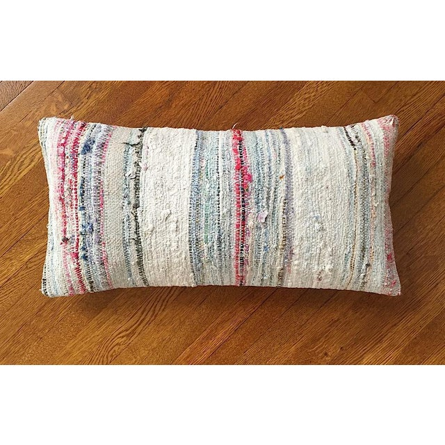 Moroccan Berber Striped Pillow Cover - Image 2 of 10