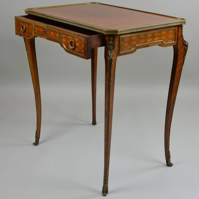 Tucking this small table away would be an injustice to the craftsmanship it quietly conveys. Beautifully joined wood...