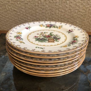 "Early 20th Century England Spode 6"" Bread and Butter Plates - Set of 8 Preview"