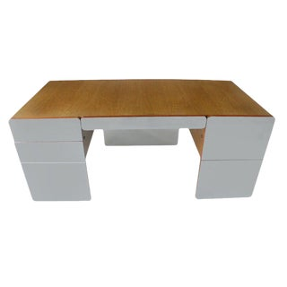 Mirrored Xception Executive Desk For Sale
