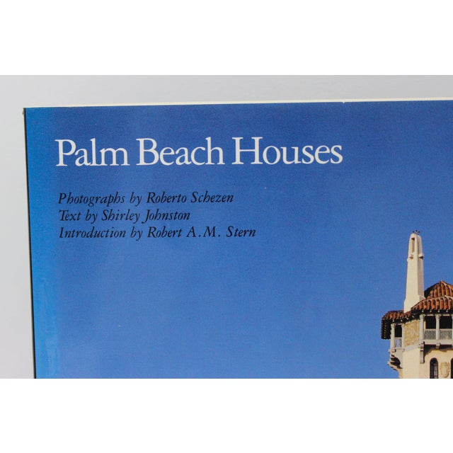 """Rare 1st Ed 1991 Rizzoli """"Palm Beach Houses"""" Coffee Table Book by Shirley Johnston from a Palm Beach estate."""