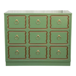 1950's Hollywood Regency Dorothy Draper Restored Espana Chest of Drawers For Sale