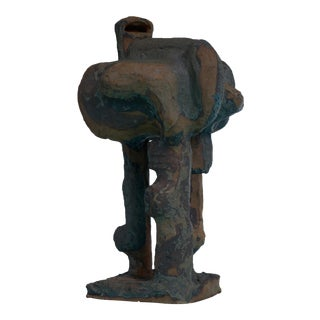 Gene Caples abstract pottery sculpture, USA For Sale