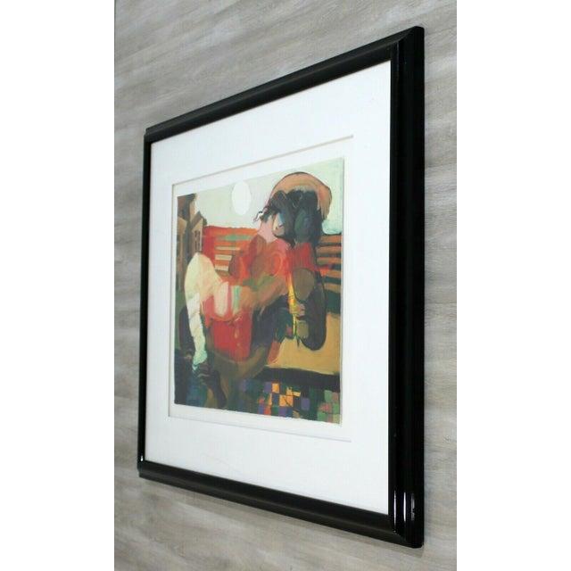 Contemporary Framed Serigraph Signed by Hessam Abrishami Spring Affair 231/395 For Sale - Image 4 of 7