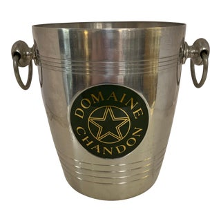 1970s Metal Domaine Chandon Champaign Bucket For Sale