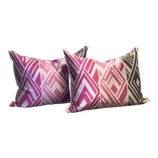 Designers Guild Valbonella Fuchsia Pillows - A Pair