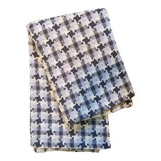 Hand Woven Contemporary Throw For Sale