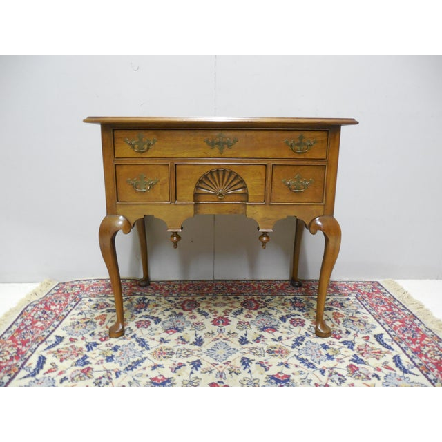 Chippendale Century Furniture Henry Ford Museum Mahogany Chippendale Style Low Boy Chest For Sale - Image 3 of 11