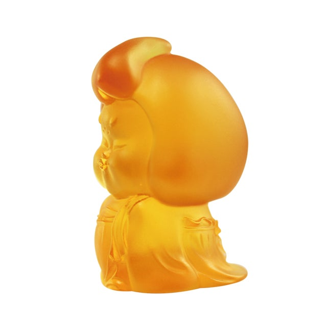 """From LIULI's """"The Beauty of the Tang Dynasty"""" collection comes this mini woman figurine, """"My Ideal Type."""" This crystal..."""
