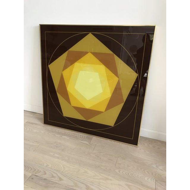 1970s Turner Printed Glass Art - Image 4 of 6