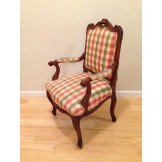 18th CenturyAntique French Louis XV Fauteuil Arm Chair Preview