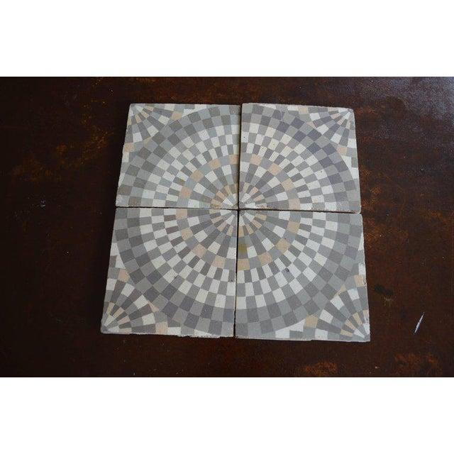 Antique Belgian Ceramic Tiles - Set of 4 - Image 2 of 11