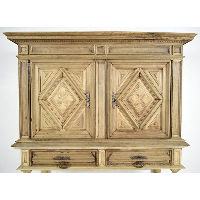 19th French Century Walnut Bleached Wood Cabinet - Image 4 of 9