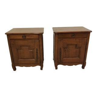 Pair of Night Stands French Country For Sale