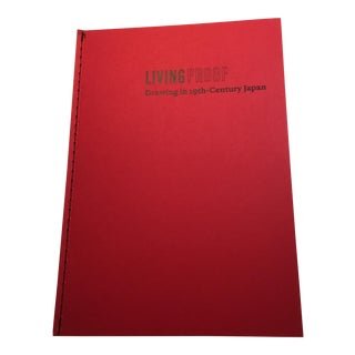 """Living Proof: Drawings From 19th Century Japan"" Book"