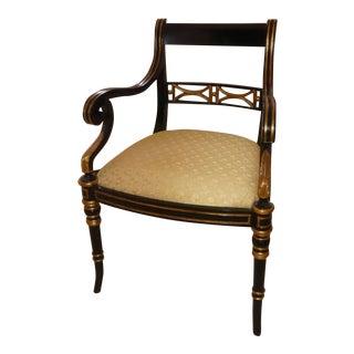 Maitland Smith Regency Style Armchair