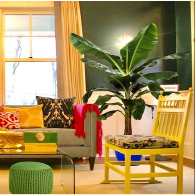 2010s Turkish Silk Velvet Pillow For Sale - Image 5 of 6