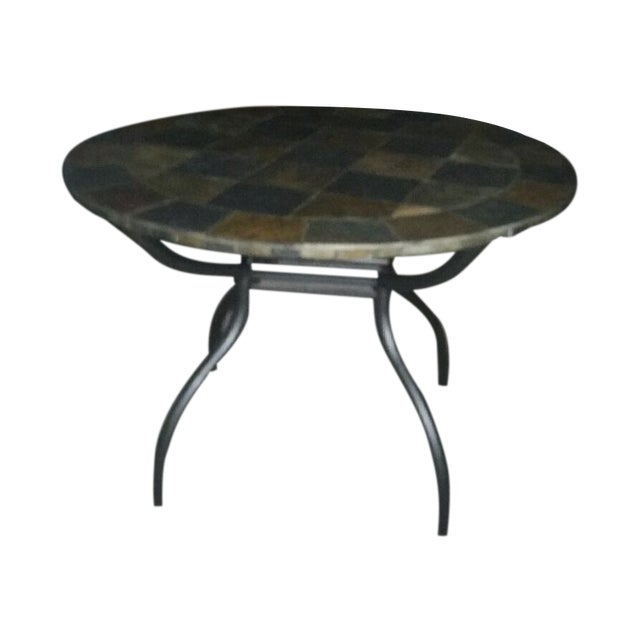 Slate Stone Dining Table - Image 1 of 3