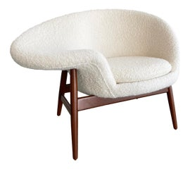 Image of Mid-Century Modern Wingback Chairs