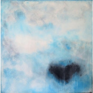 Naples. Envious Blue, I. Oil on Canvas. 2018 by C. Damien Fox For Sale