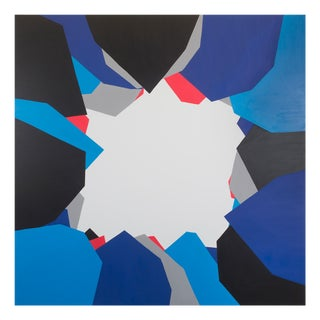 """Ulla Pedersen """"Cut-Up Canvas Ii.4"""", Painting For Sale"""