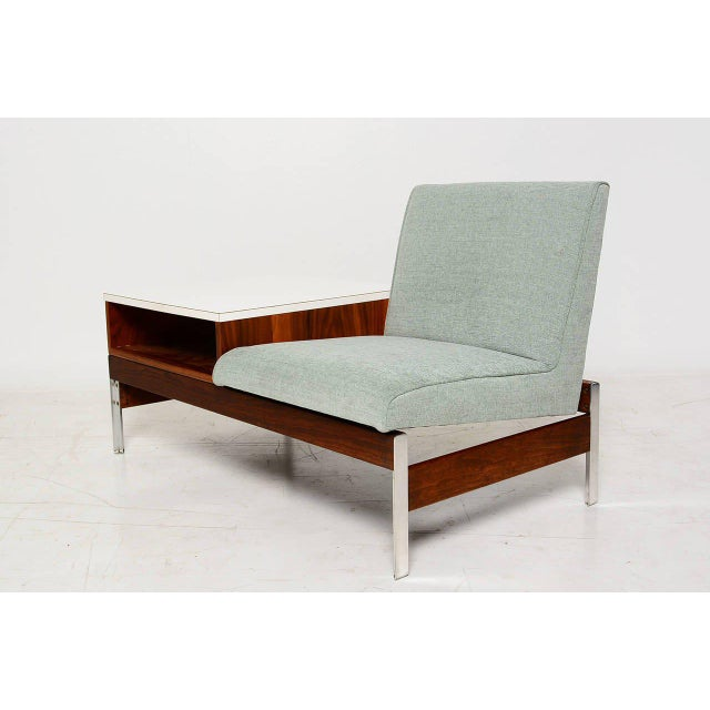 Mid-Century Modern Mid-Century Seat & Table For Sale - Image 3 of 10